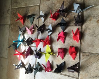 Pack of 15 Origami Paper Cranes!