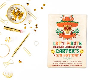 Fiesta Birthday,fiesta birthday invitation,mexican fiesta,Fiesta Birthday Invitation, Fiesta Invitation, Cinco De Mayo
