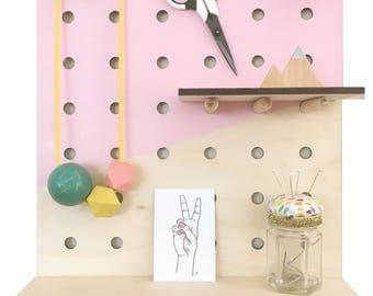 Peg board • A3 Peg Board • Storage • Craft Display • Display Board • Large Peg Board • organisation • Kitchen Board • Craft room