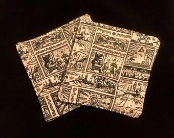 Zelda Pot Holders - set of two