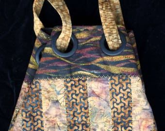 Large Decorative quilted bag