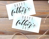 Happy Father's Day Digital Printable Gift Tags - Gifts For Dad Gift Fathers Day Dads Papa Tag DIY Label Thank You Favor Favours Event Father