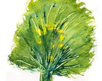 Tree watercolour watercolor