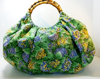 Granny Bag, Craft Bag, Travel Bag