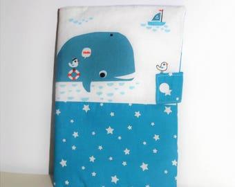 Blue whale personalized book