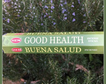 Good Health Incense Sticks