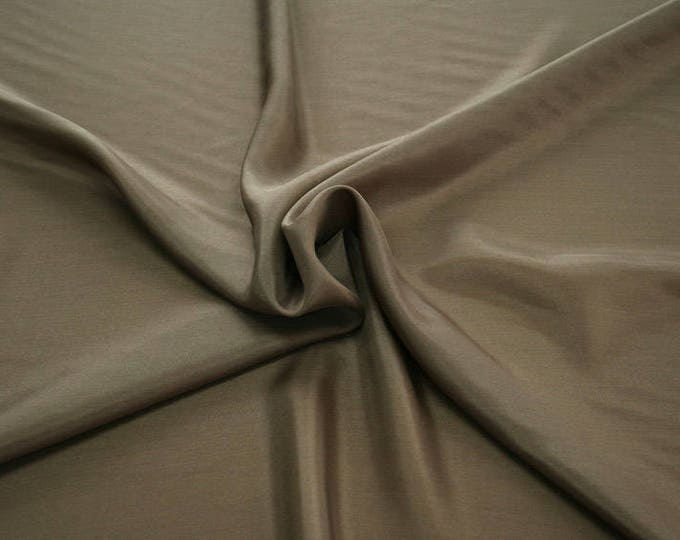 402121-taffeta natural silk 100%, width 110 cm, made in India, can be used liner, dry wash, weight 58 gr