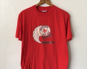 1979 Boston Red Sox Vintage Red Sox 1970's 70's Hanes T Shirt