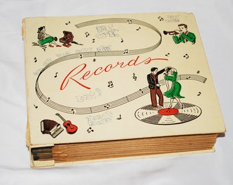 Vintage Vinyl Record Album for 45's