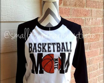 Mom Basketball Shirt, Basketball Shirt,Team Spirit Shirt