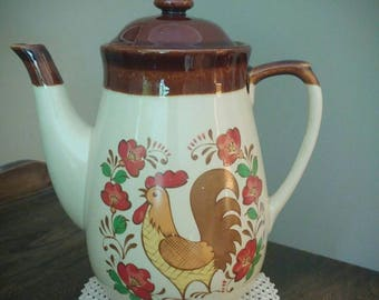 Vintage Teapot-Rooster -made in Japan