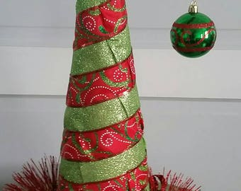 Table top Christmas tree. Excellent for office or small apartment!