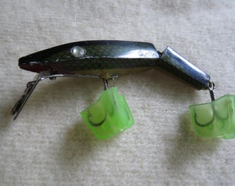 Antique Fishing Lure - Old Plastic Fish Bait - Unmarked