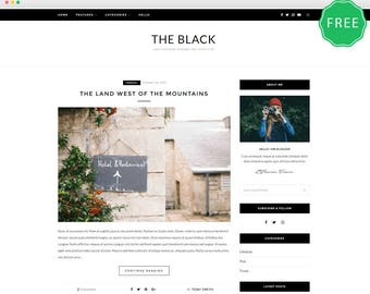 ZBlack Lite - A Responsive WordPress blog theme.