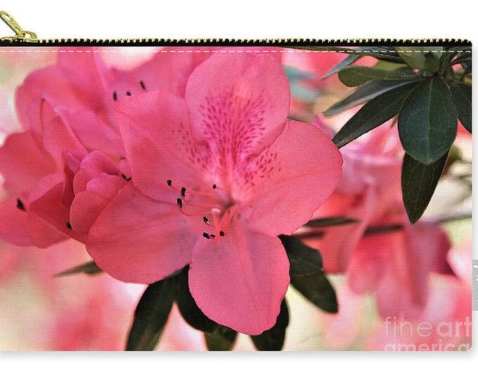 Carry-all Pouch Pink Flower Party