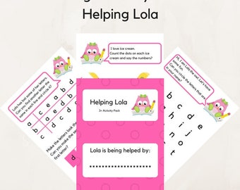 Educational printables , Helping Lola Worksheets Activities