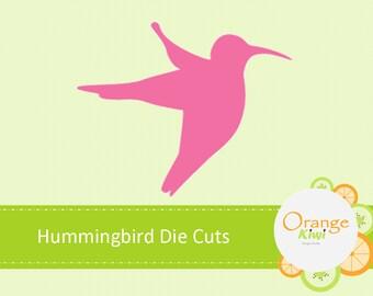 Hummingbird Die Cuts, Hummingbird Paper Cut Outs