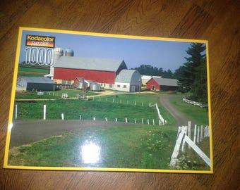 Kodak 1000 piece 1990's  jigsaw puzzle