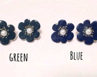 Lovely handmade flower earrings