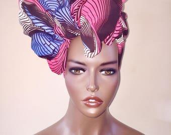 African Head Wrap, Scarf, Head Tie, Ankara