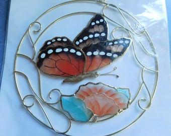 Vintage Seashell Art Butterfly New, Never Opened