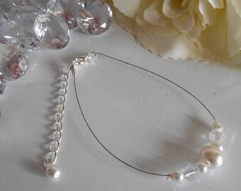 "Bracelet ""collection harmony"" pure ivory"