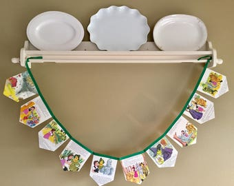 The Wizard of Oz (Little Golden Book) Storybook Banner, Garland, Bunting