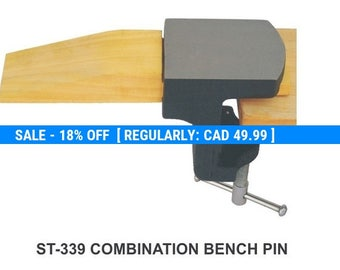 PARUU® Clamp On Bench Pin and Anvil ST339