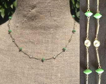 Art Deco 1930s  inspired necklace