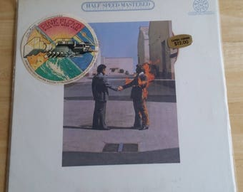 Pink Floyd - Wish You Were Here - HC 43453 - 1975 - 1980 Half Speed Mastered Pressing - CBS Mastersound - NM Condition!