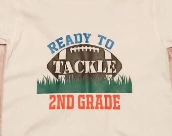 Ready to takle school shirt