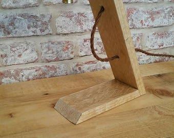 Handmade rustic lamp