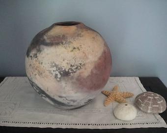 Beautiful earthenware vase