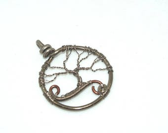 Tree of life, aluminum and copper Celtic spirit