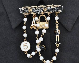 Brooch pin charm Couture