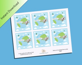Planes Design Thank You Cards, Party Favors, Mini Notecards, Traveling, Baby Shower Decor, Baby Shower Notes, Airplanes, traveling the world