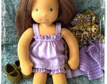 "Waldorf doll   15-16"", Birthday Gift, Holiday Gift,  - Rag doll - Textile doll"