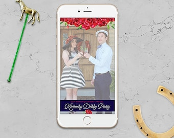Snapchat Geofilter – Kentucky Derby