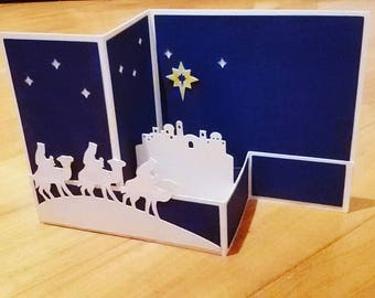 Christmas greeting card/ticket good year/Epiphany greeting card/greeting card holidays