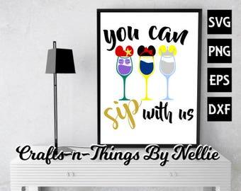 You can sip with us SVG