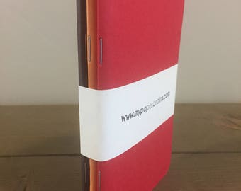 Brown/Orange/Red Pocket Notebooks
