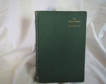 1934 ** The Oppermanns ** Lion Feuchtwanger** Ex Library Book **   **sj
