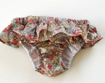 Swimsuit for girls in liberty Flower Tops