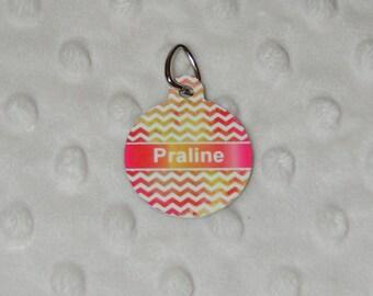 Praline, Medal for pets, tag, dog, cat, custom nameplate medals