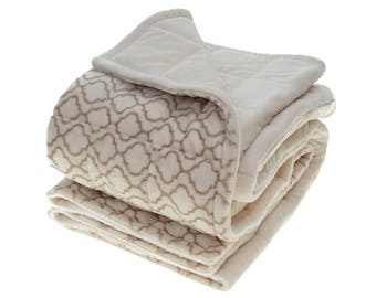 """Adult weighted blanket, 6""""x6"""" pockets, double minky weighted blanket, 40""""x60"""", 54""""x68"""", 54""""x80"""", sensory weighted blanket, washable blanket"""