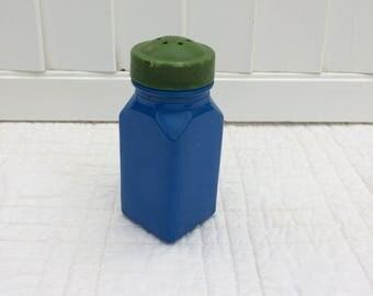Blue Glass Shaker
