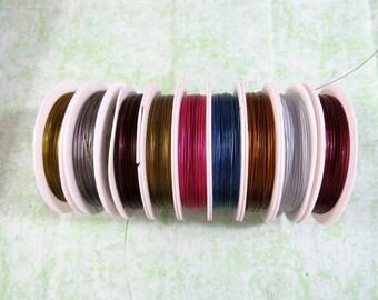 1 Roll Tiger Tail Wire (Shelf 1-6)