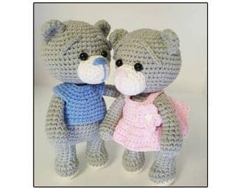 Amigurumi pattern Baby bear