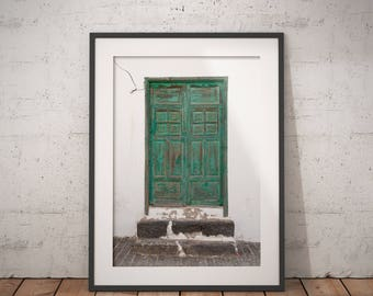 Teguise in Green I - Fine Art Photographic Print