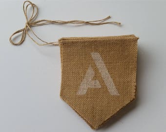 ON SALE!! All You Need Is Love bunting. For rustic/vintage wedding.